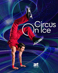 Circus on Ice - Aufführung auf Kunststoff-Eis!