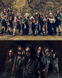 BROTHERS OF METAL & ELVENKING